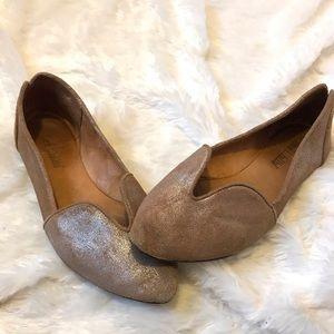 Anthropologie Gee Wawa Leather Flats